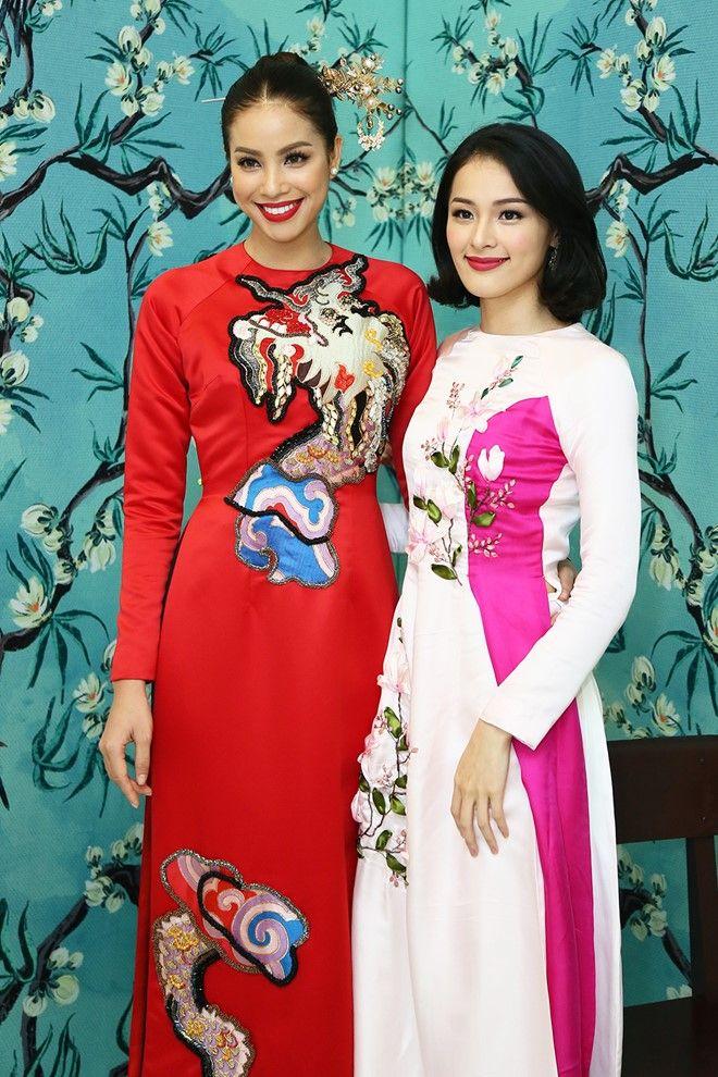 Dàn sao Việt diện áo dài đi sự kiện hình ảnh 1