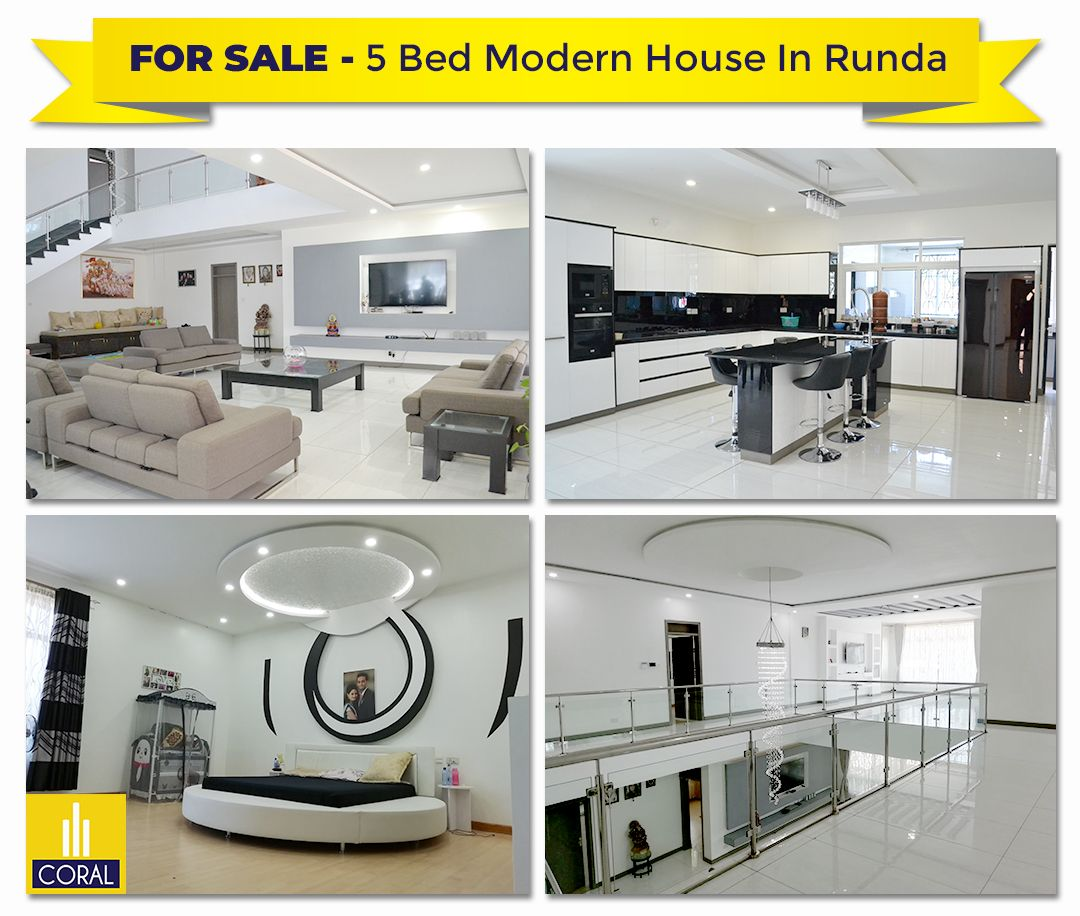Modern Standalone 5 Bedroom House On 0.5 Acres For Sale In