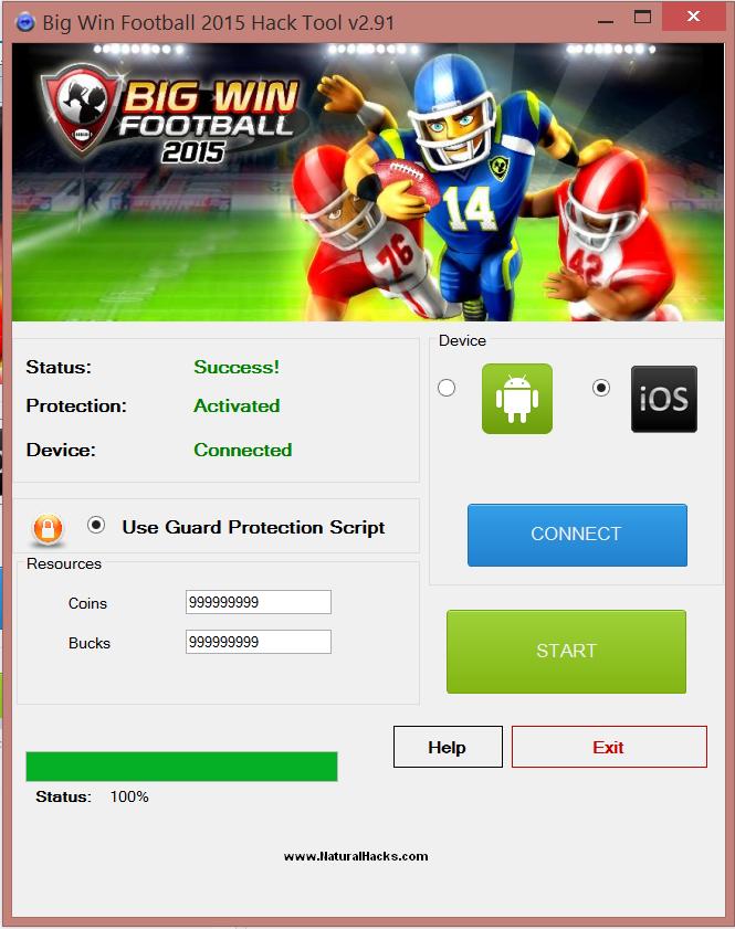 big win football hack apk download