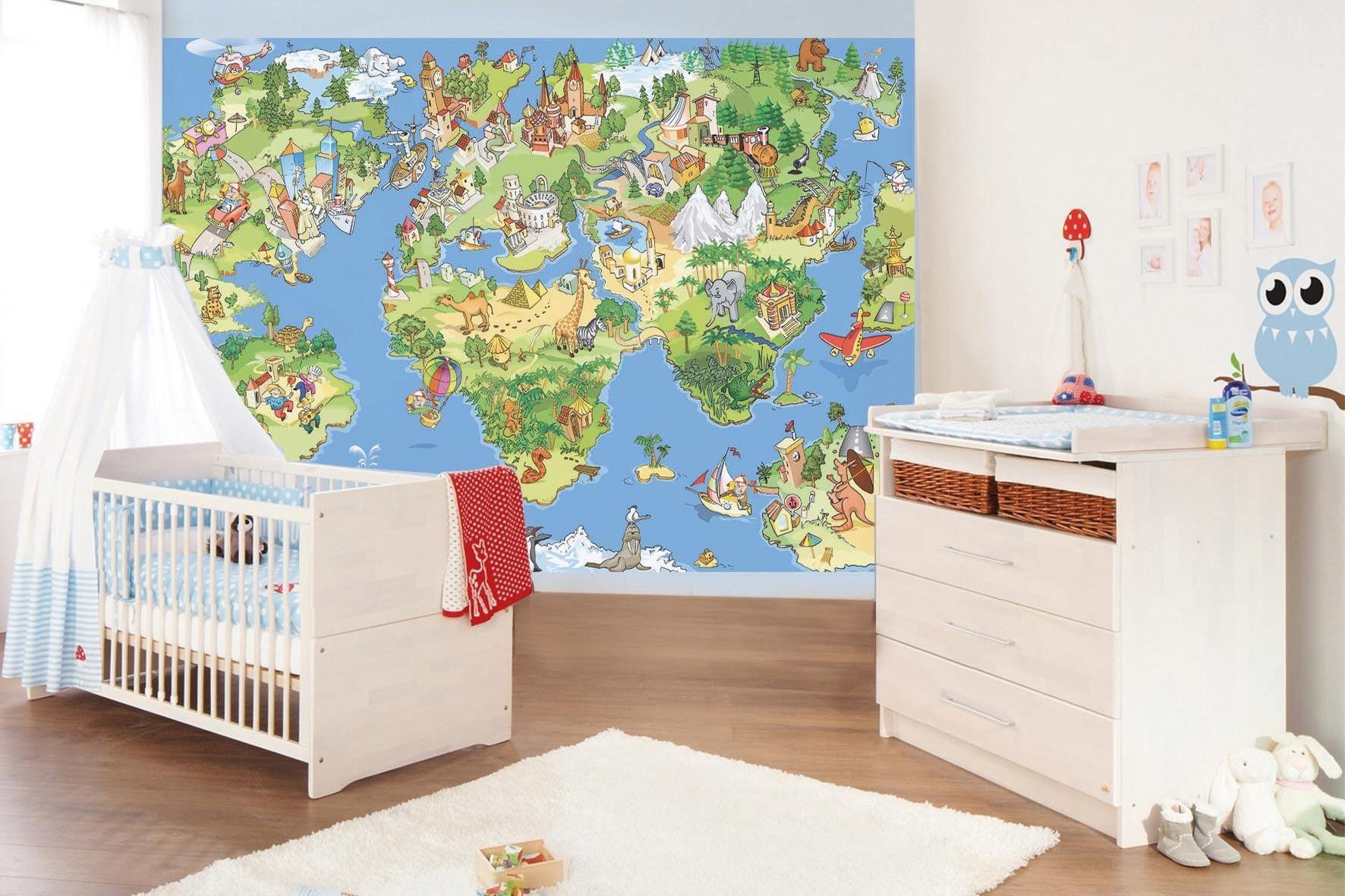 Top 6 Gender Neutral Nursery Wallpaper Themes