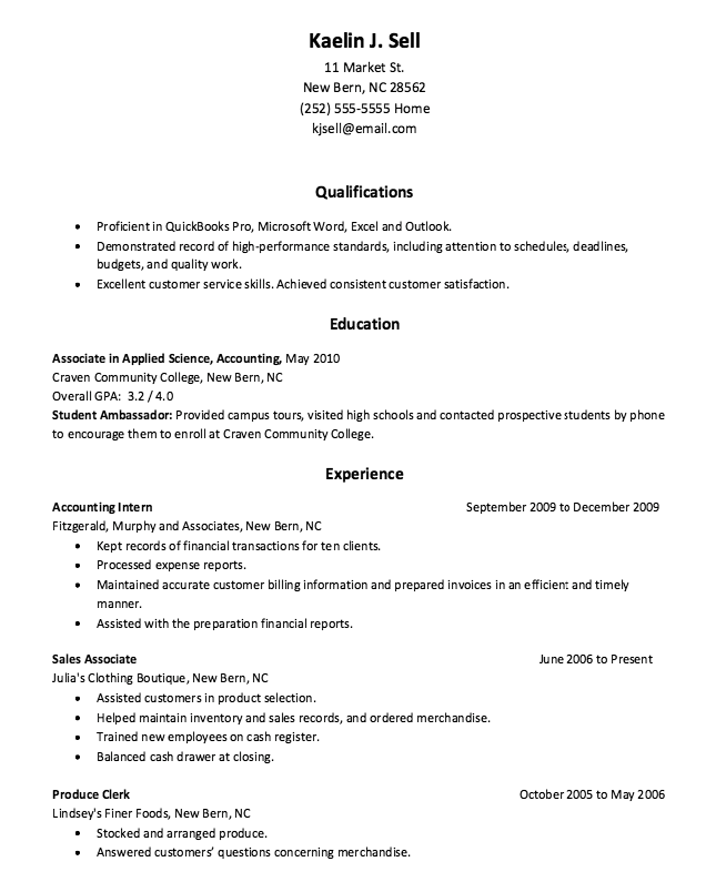 Accounting Internship Resume Sample Pinririn Nazza On Free Resume Sample  Pinterest  Sample