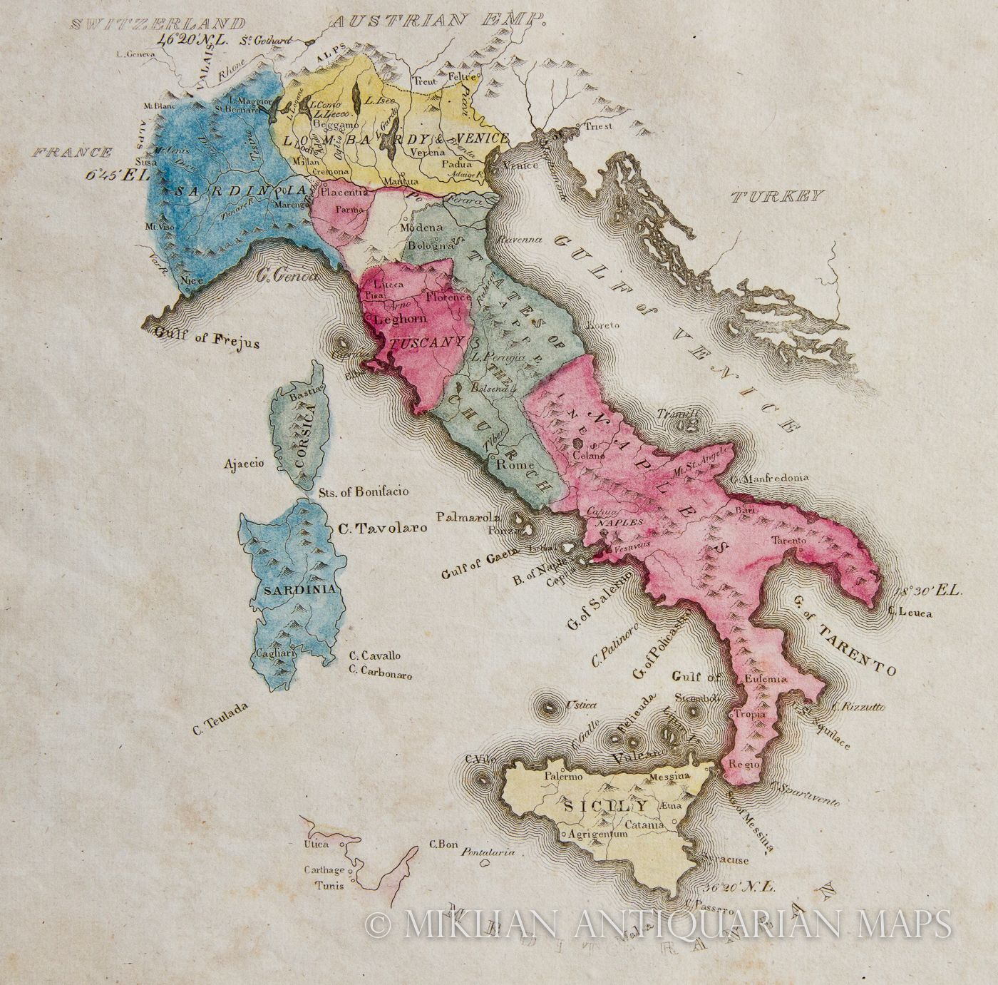 I need more vintage maps in my life beautiful italy pinterest map of ancient italy gumiabroncs Choice Image