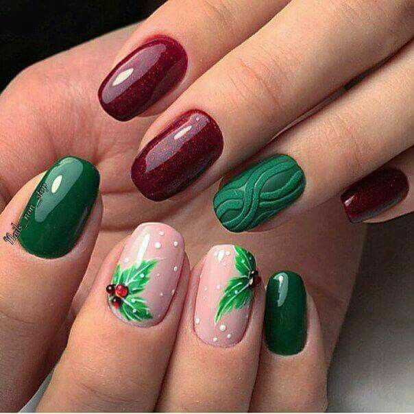 Pin by beres crina on unghii de crciun pinterest winter nails christmas nail art holiday nails dope nail designs feet nails dope nails winter nails fabulous nails bell pepper instagram prinsesfo Image collections