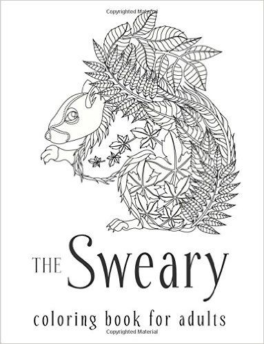 The Sweary Coloring Book For Adults Swear Word Amazonco