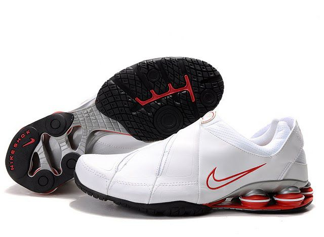 8a59a8dc4d43c4 Nike Shox R5 Men White Red  65.00 to  www.shoxr4shoestoyou.com ...