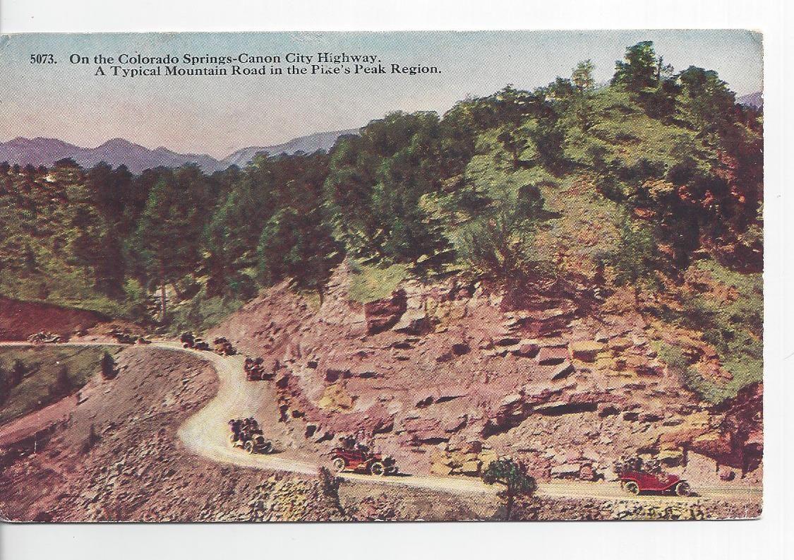High Road to Colorado Springs Canon city, Colorado
