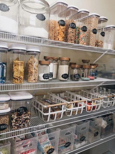 How to create a perfectly organized pantry. Get inspired ...