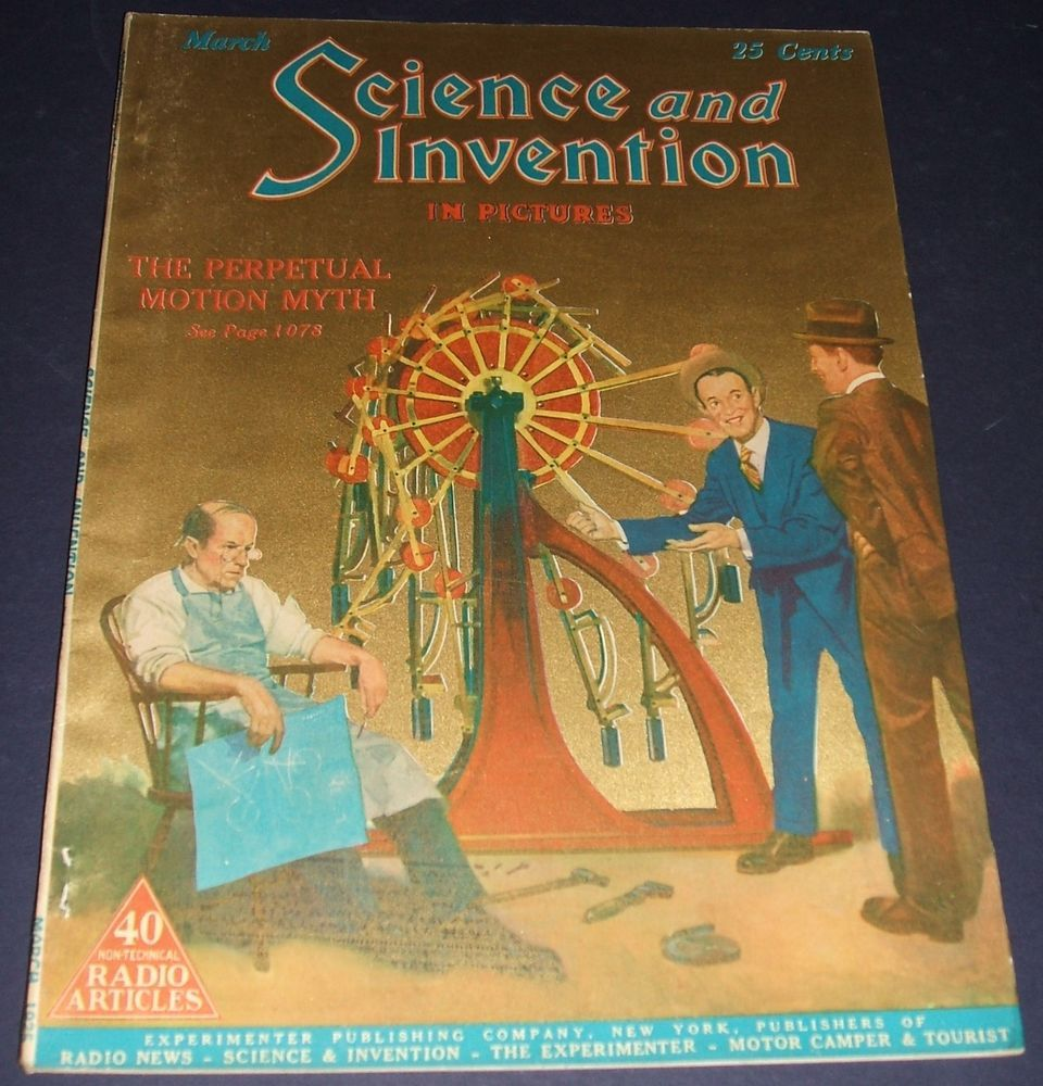 vintage issue of science and invention magazine for march 1925