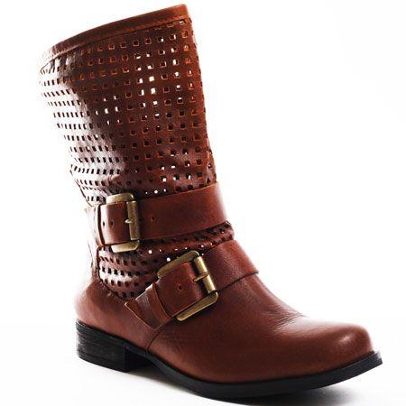 Boots..... Steve Madden    Favvor Boot - Cognac