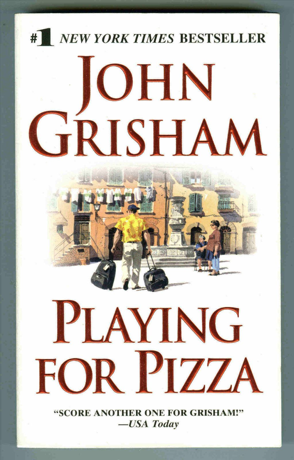 playing for pizza grisham john