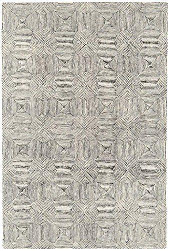 Teppich Wohnzimmer Carpet modern Design CAMDEN ABSTRAKT RUG 100 - Wohnzimmer Weis Turkis