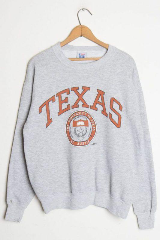 TEXAS University The Texas At Austin Sweatshirt – stereotipes
