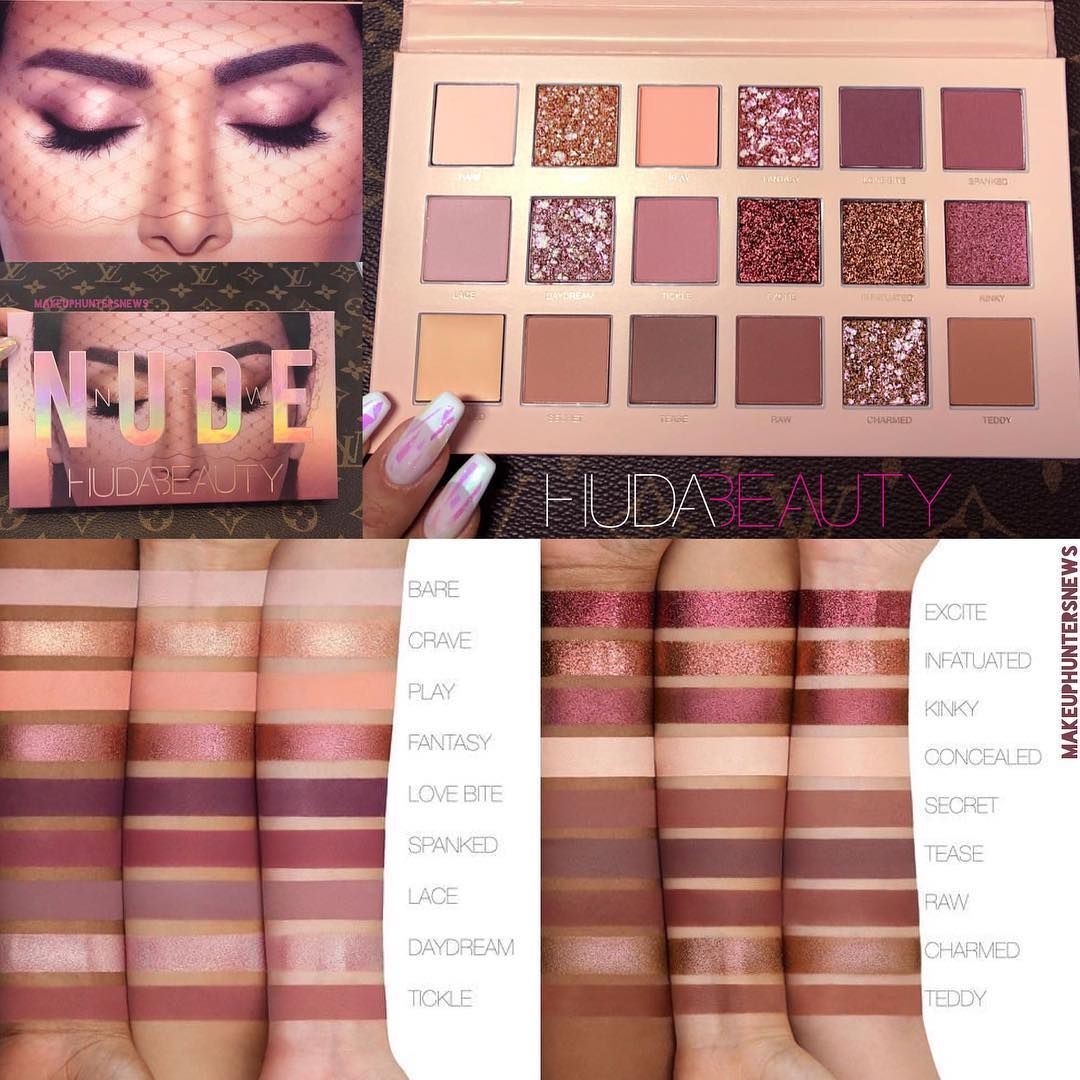 The New Nude Eyeshadow Palette by Huda Beauty #18