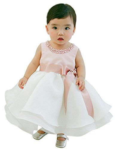 NNJXD Girl Sleeveless Ankle Length Tutu Princess Wedding Pink Dress Size 0-6 Months Pink&White. Cotton Polyester Lace Blending. Package included: 1x Girl Dress, no headband. Size Table means age ranges for girl, but they are for general guidance only. For most accurate fit, we recommend checking detailed measurement before purchase. Both gently hand wash and dry-clean are recommended. Use mild detergent and hang dry, but do not bleach, and use hot water. Jewelry mosaic on the round-neck...