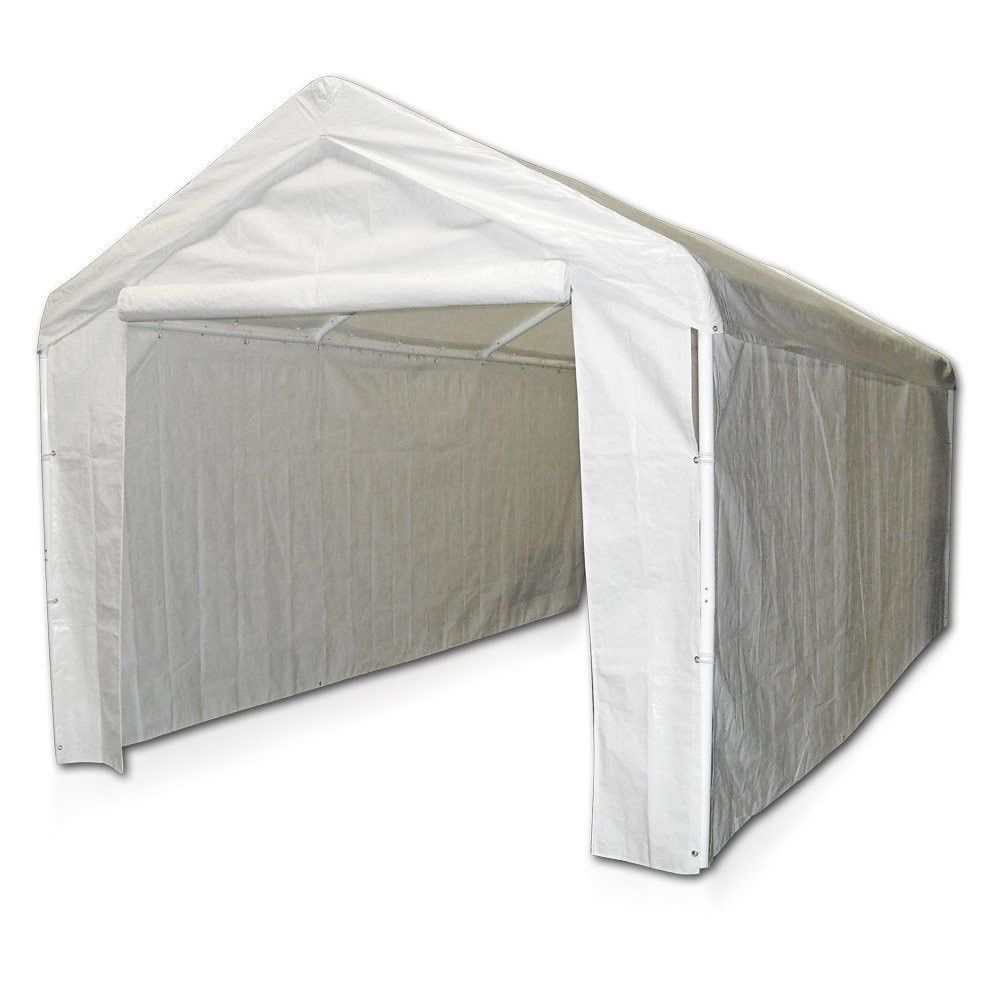 Canopy Garage Side Wall Kit 10x20 Tent Portable Carport