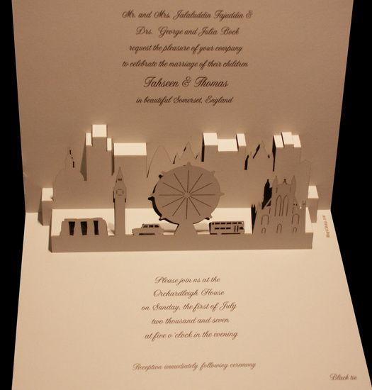 3d London Wedding Invitation Card Wedding Invitation Card Design Wedding Invitation Cards Wedding Invitations