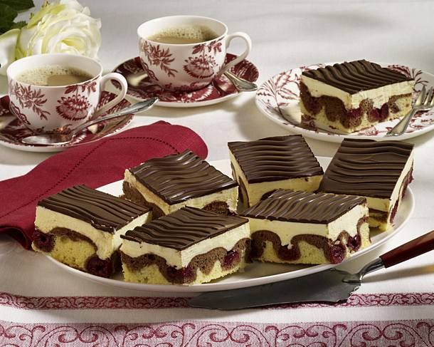 Photo of Classic Danube waves with cherries and butter cream recipe DELICIOUS