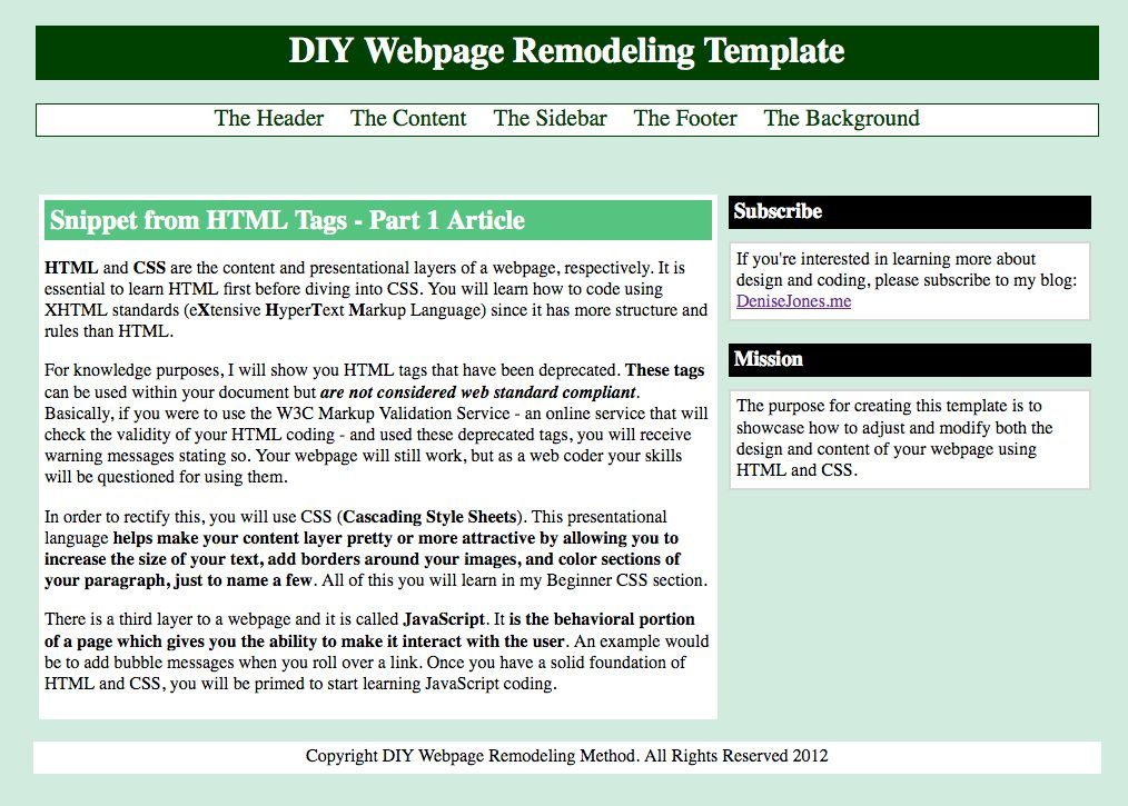 DIY Webpage Remodeling Learn to code, How to find out