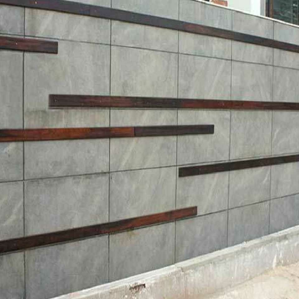 Boundary Wall Compound Wall Design Wall Tiles Design Compound Wall