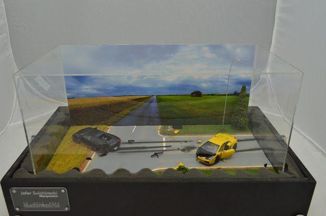 Diorama Lamborghini Wreck - Jefer Sulchinscki - Jun/2013