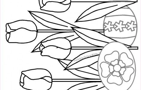 sunday school easter coloring pages