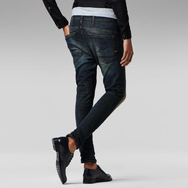 G star herren jeans loose super jeans in dieser saison for Zerissene jeans herren