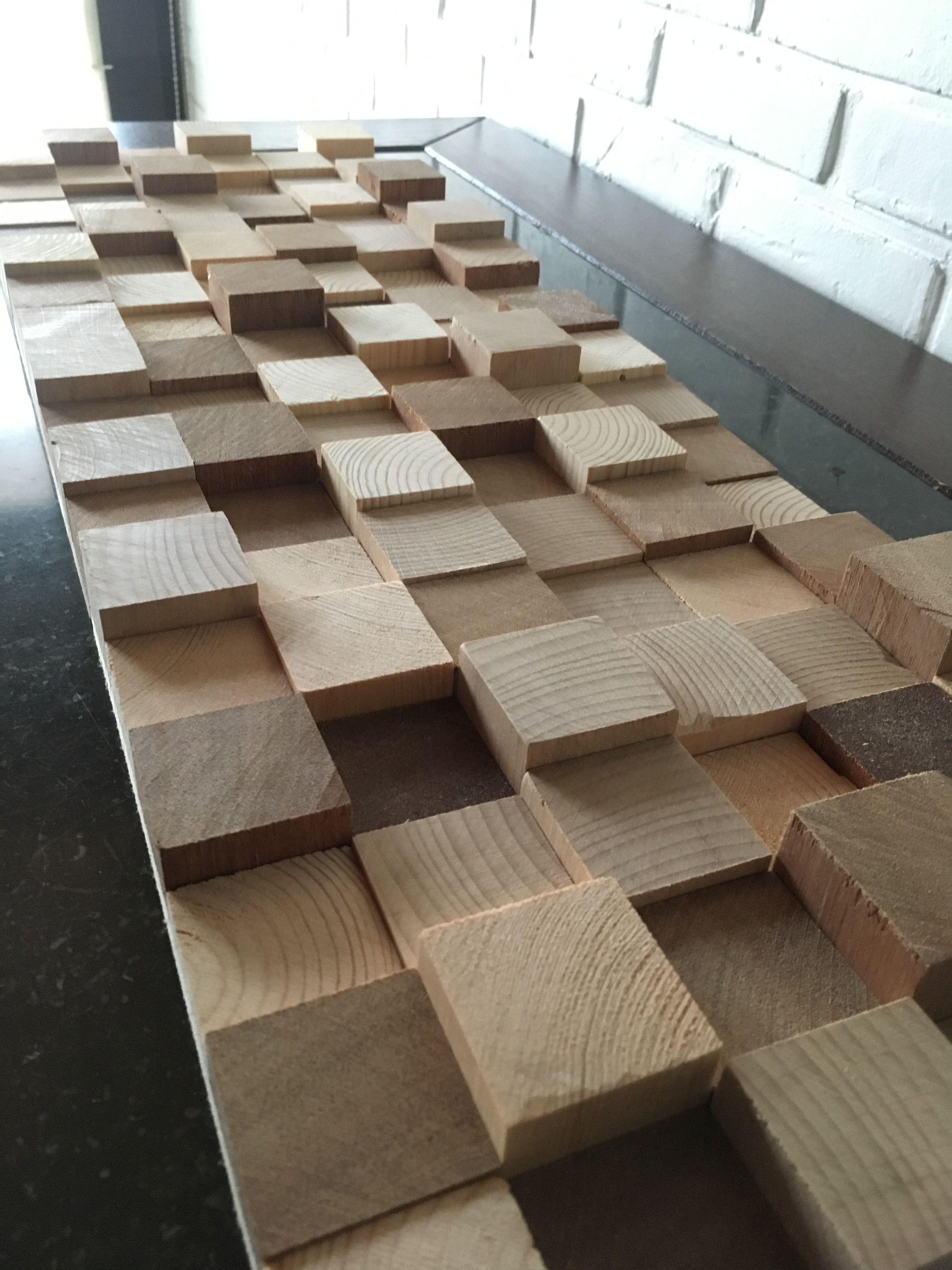 Davy Claes interieur-maatwerk #wallart #wood - interieur en design ...