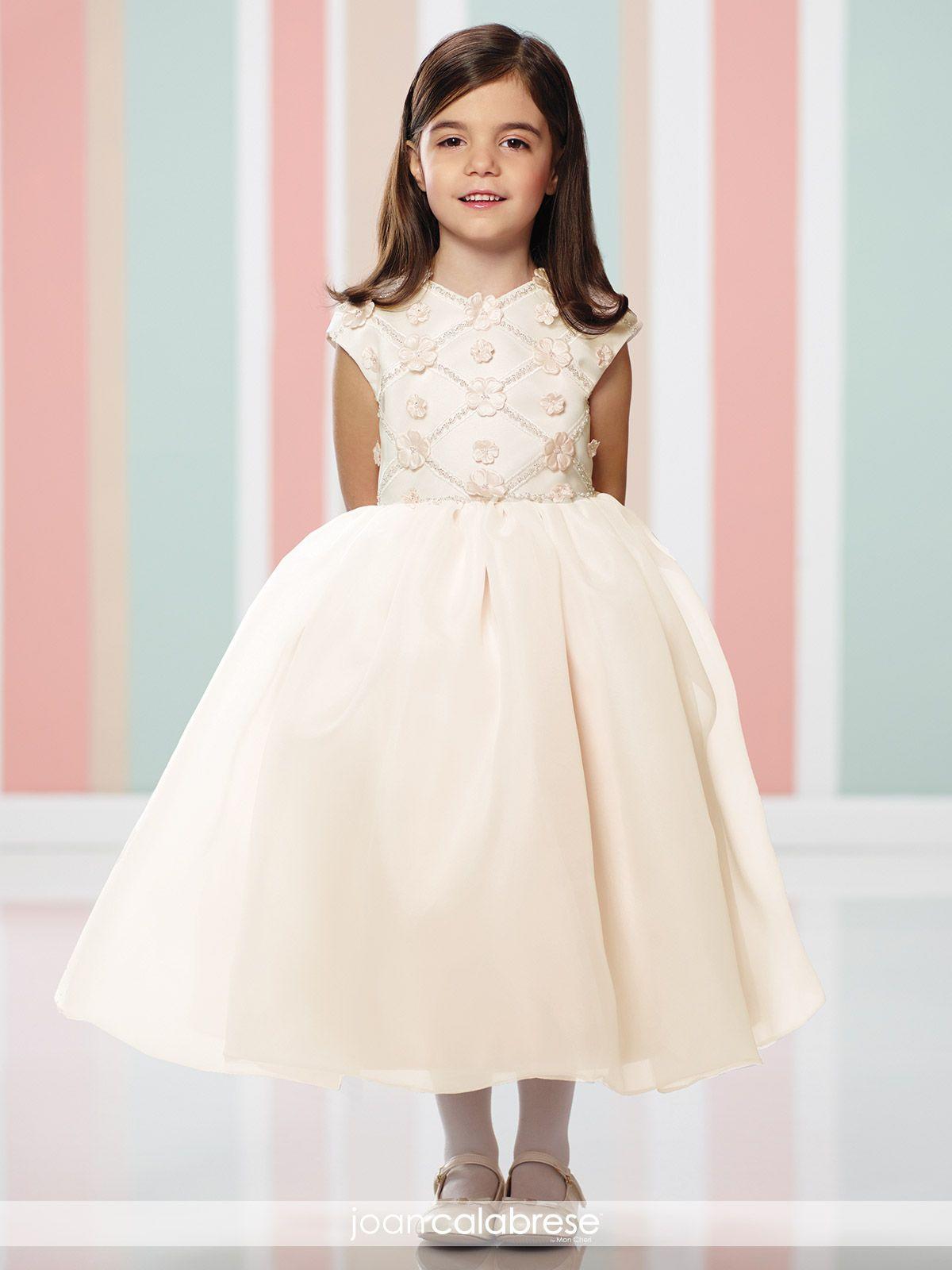 Joan calabrese flower girl dresses moda infntil pinterest