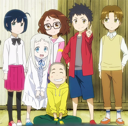 Anohana Anime triste, Filmes de anime, Animes wallpapers