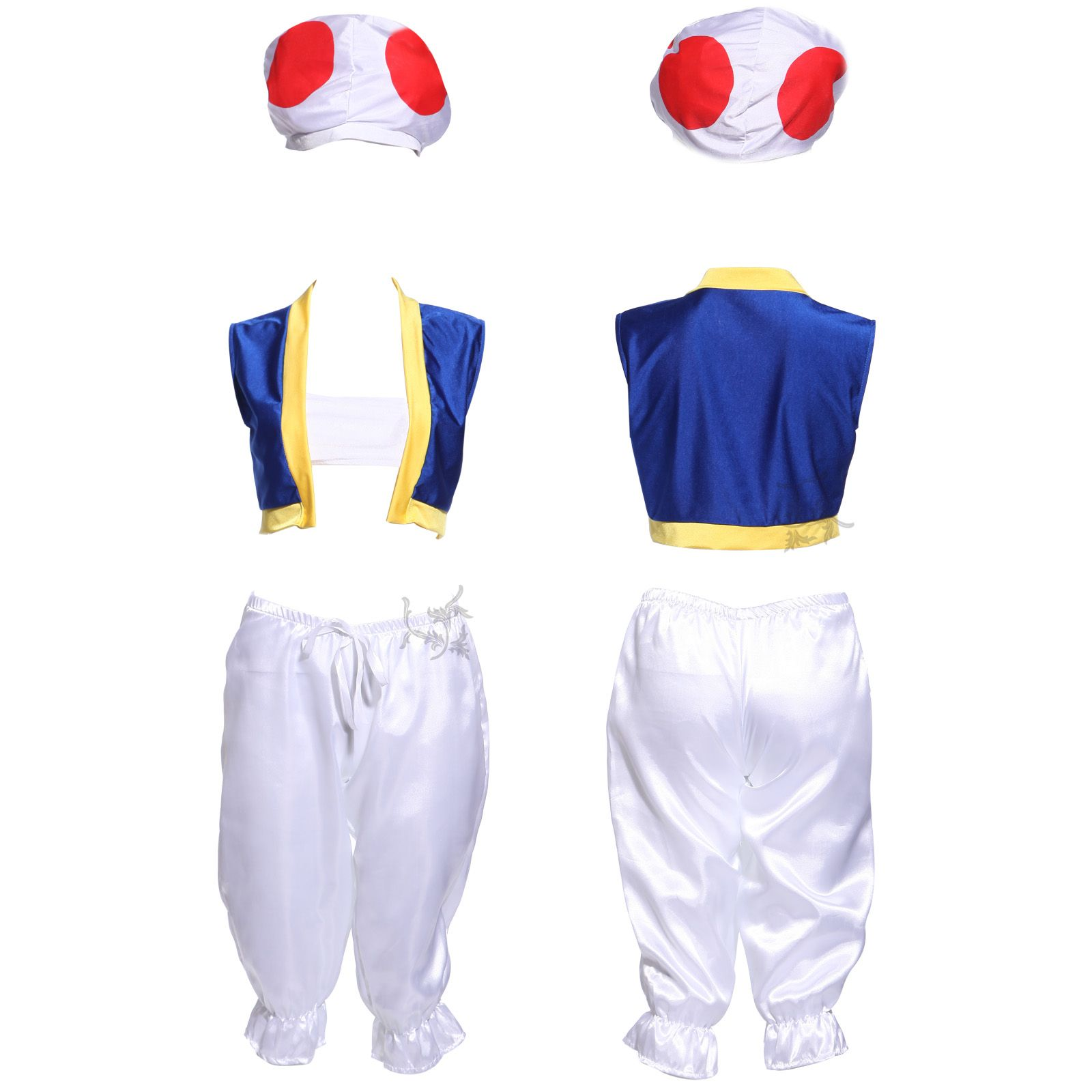 diy womens toad costume - Google Search  sc 1 st  Pinterest & Toad from Super Mario Bros. Super Easy No Sew Homemade Halloween ...
