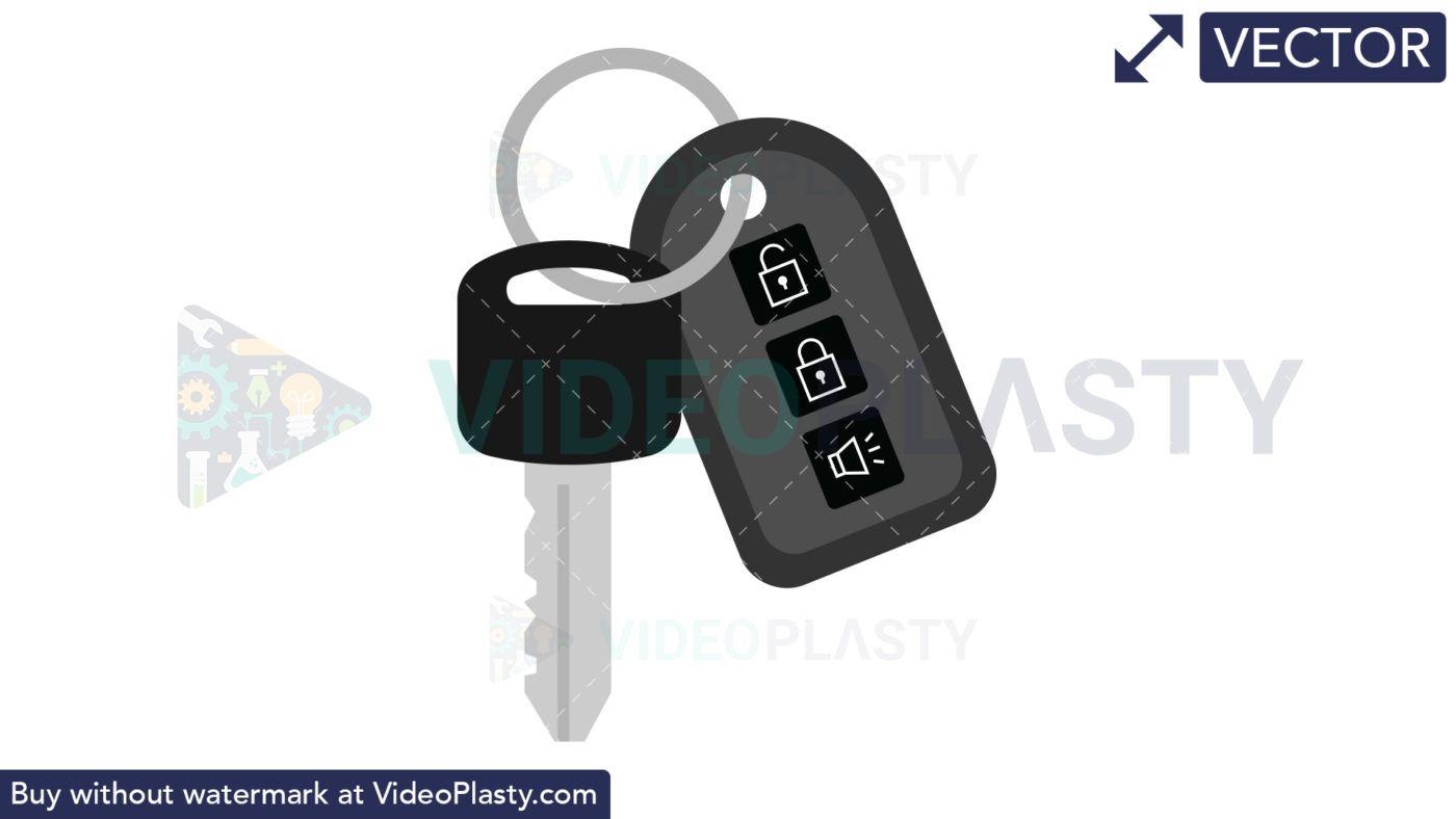 Car Key Icon Vectors Key Icon Vector Vector Clipart