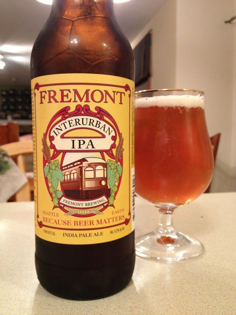 464 Fremont Brewing Interurban Ipa 1000 Beers Cerveja