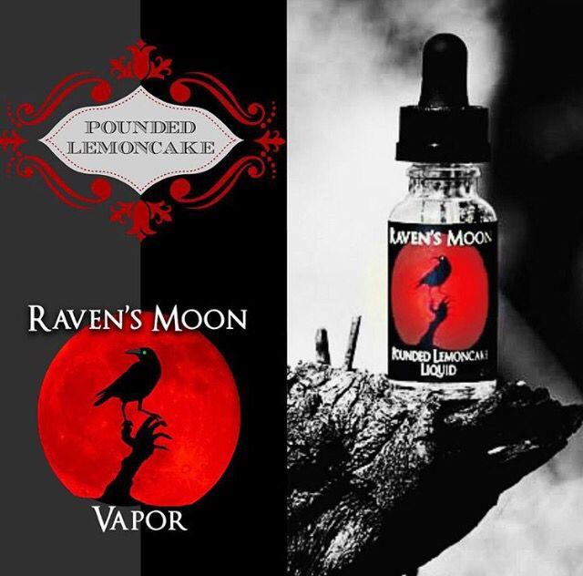 Raven's Moon Pounded Lemoncake Liquid at Ravensmoonvapor.com
