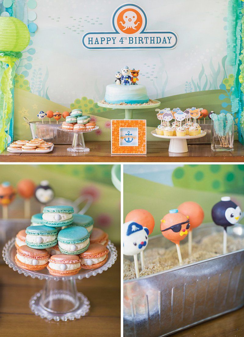 Creative Octonauts Sea Creatures Birthday Party Birthdays