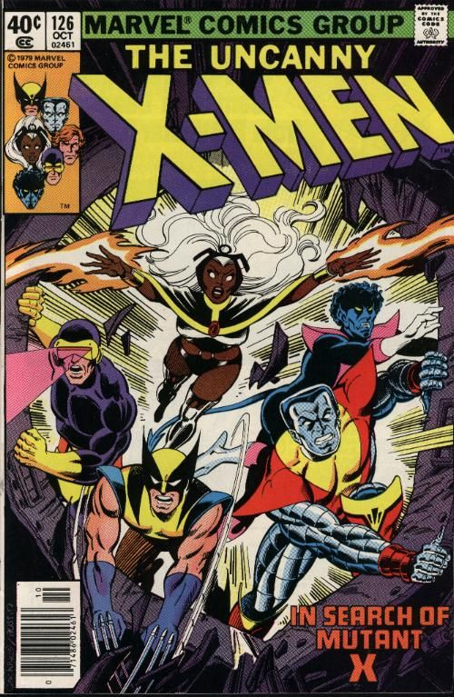 X Men 126 Jpg Comic Book Covers Comic Books Art Marvel Comics Covers