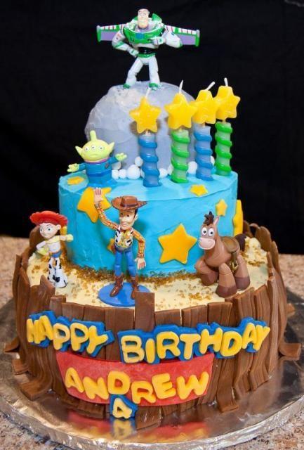 Three tier Toy Stoy theme birthday cake Amazing Artistic Cakes