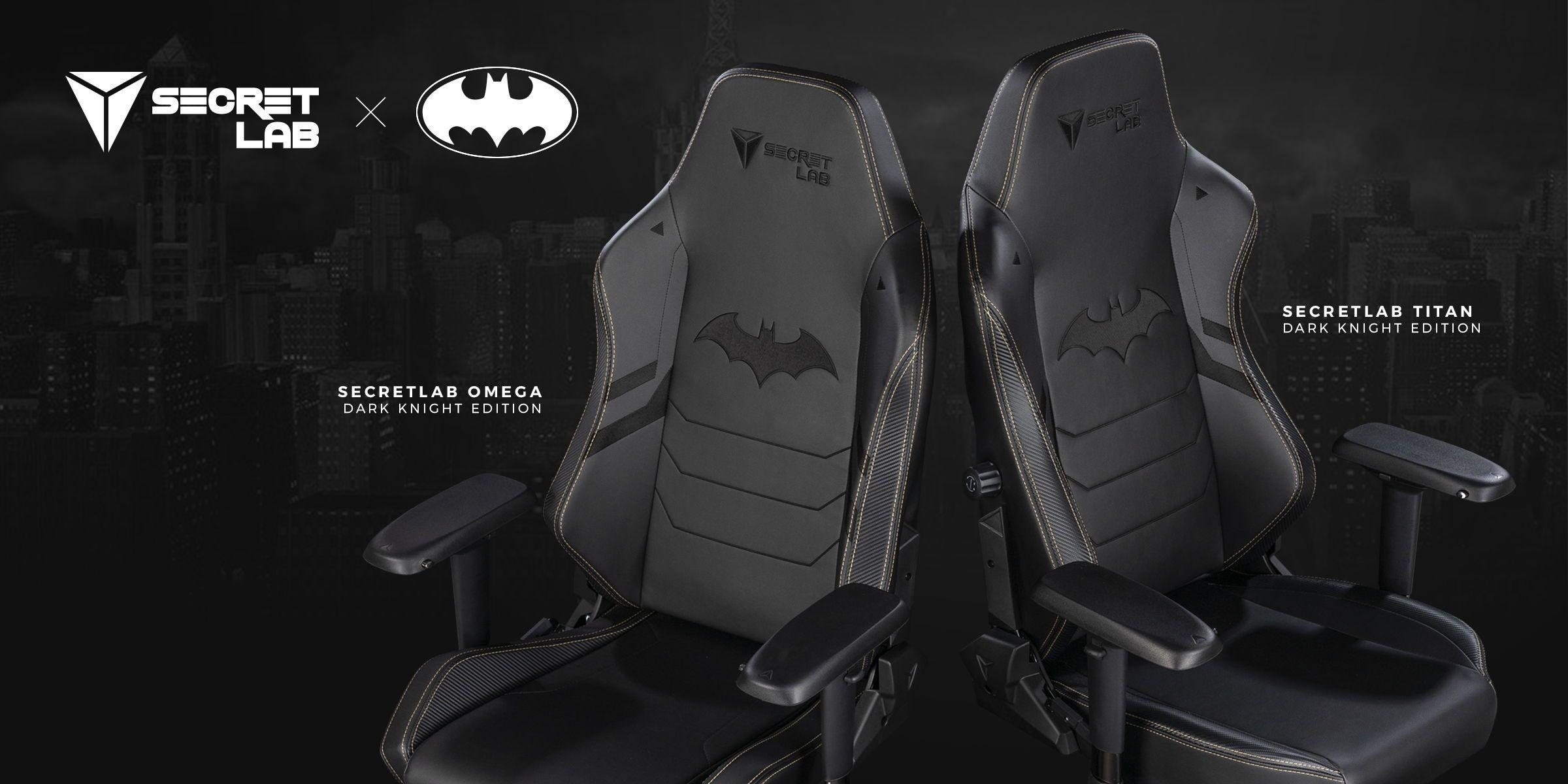 Secretlab Dark Knight Edition Check It Out On Secretlab Co Gaming Chair Geek Culture Anniversary Games