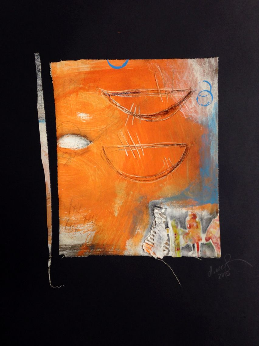 Debi West 2015 - mixed media on canvas