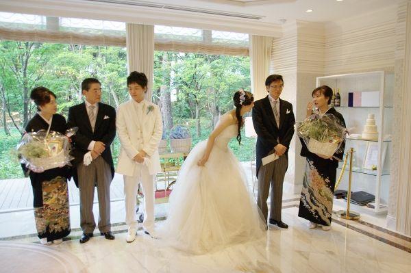 ル アール 東郷での結婚式 ウェディングドレス・Ms.Saeko.A. 2010.9.19