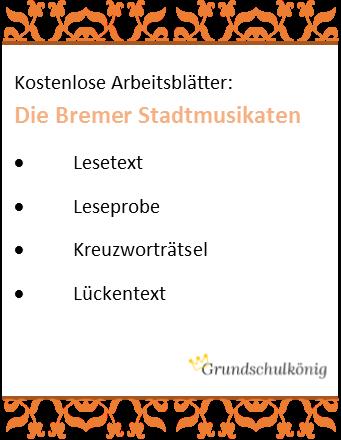 Grimms Märchen: Lesetext, Leseprobe, Kreuzworträtsel etc. zu den ...