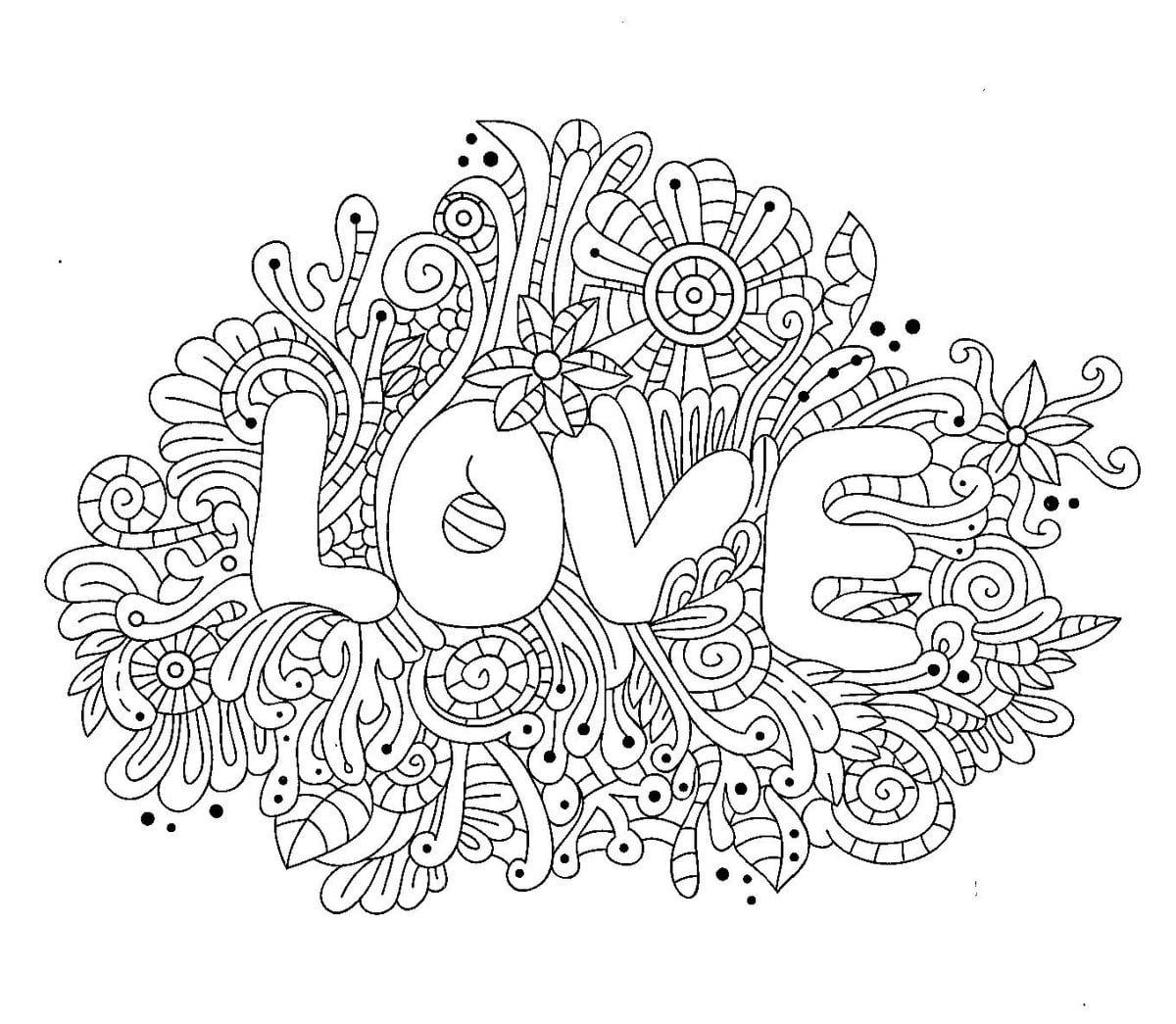 сложные раскраски для девочек 10 12 лет распечатайте онлайн