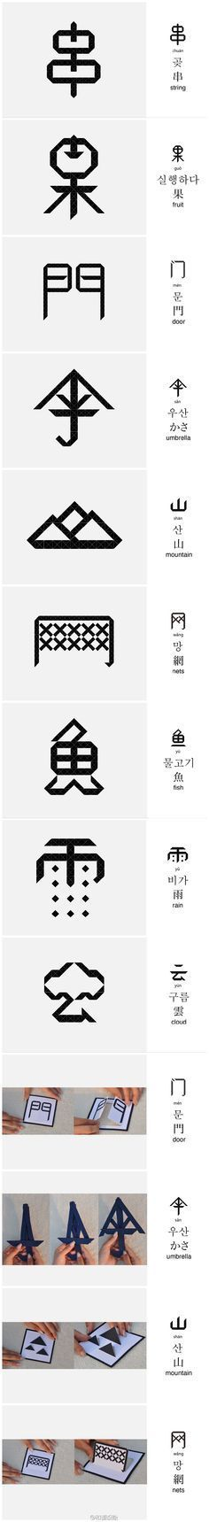 Chinese Typography #chinesetypography Chinese Typography #chinesetypography