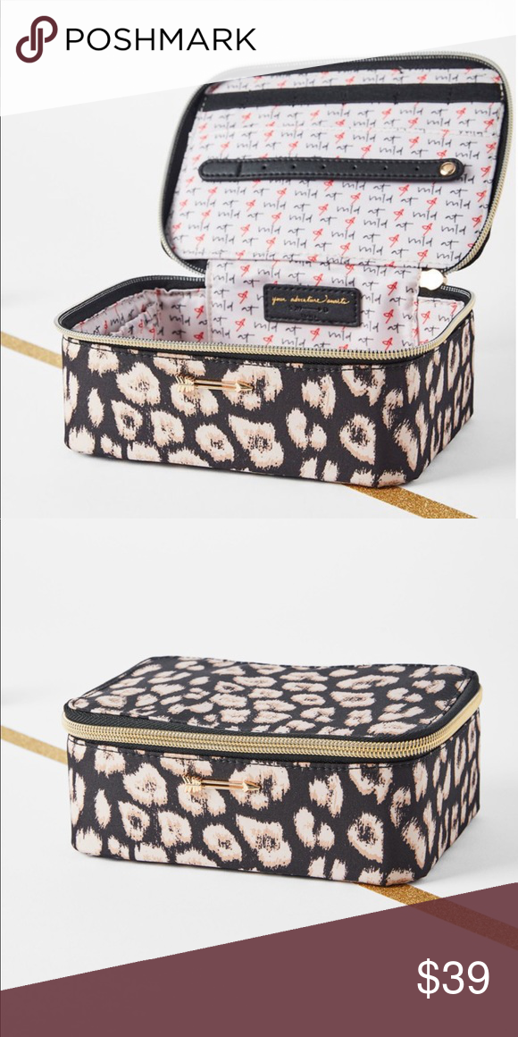 b438df7c07244 Travel Jewelry Box - Leopard Stay organized and avoid tangles with the Travel  Jewelry Box.