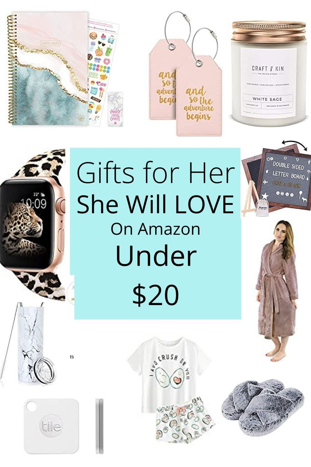 Amazon gifts she will love under 20 2020 in 2020 amazon