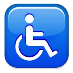 Wheelchair Symbol Emoji U 267f U Ea U 267f U Fe0f Emoji Symbols Emoji Symbols