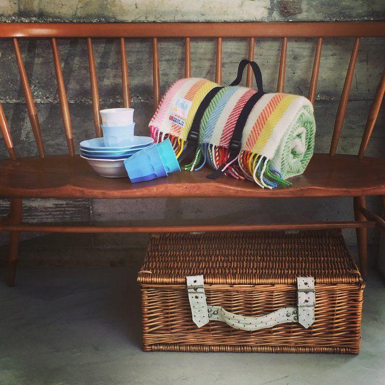 lambswool picnic blanket