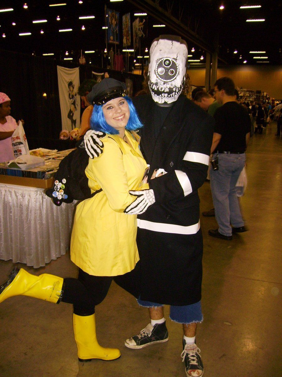 Coraline And Wybie By Scareoline Coraline And Wybie Coraline Halloween Cosplay
