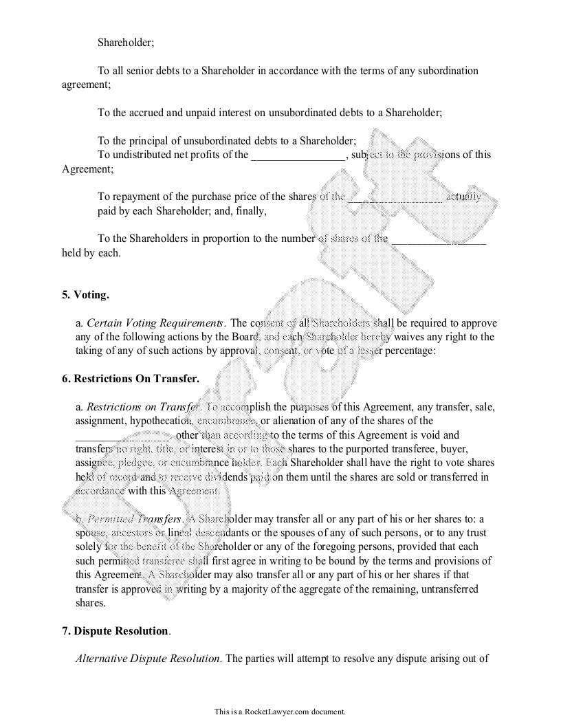 Investors Agreement   Investor Contract Agreement (Form With Sample)  Investor Contract Sample