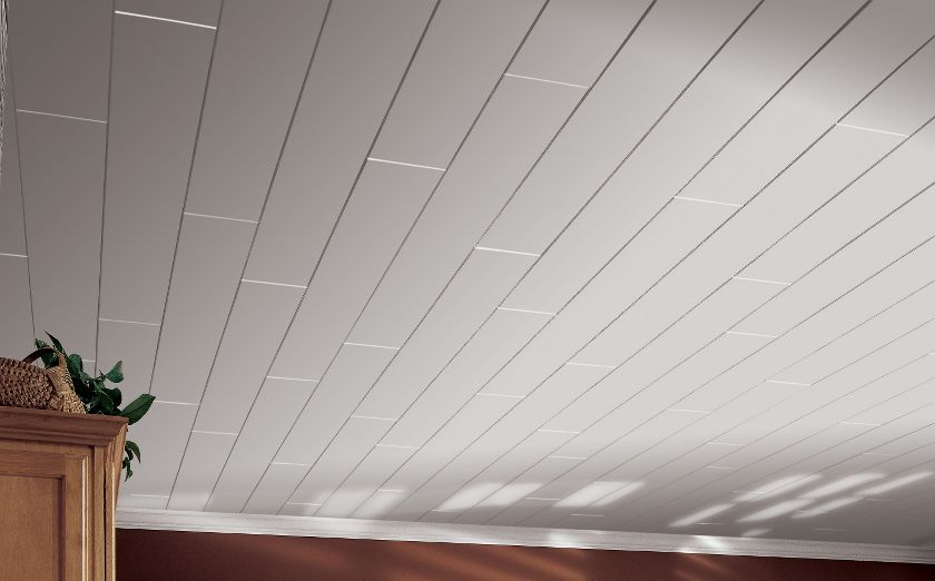 tongue and groove ceiling planks. how to plank a popcorn ceiling