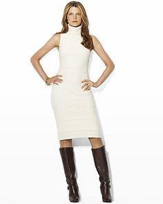 e8e5f6336ff how to style sleeveless turtleneck sweater dress - Google Search ...